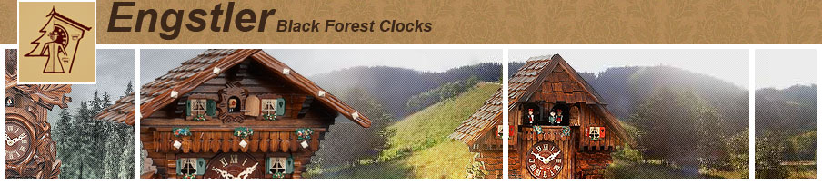 Engstler Black Forest clocks