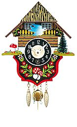 Mechanical pendulum clock