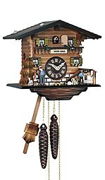 Heidi style mechanical cuckoo clock
