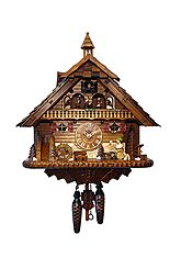 Cuckoo clock with music