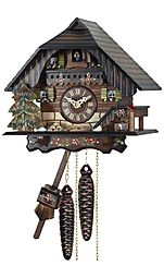 Mechanical cuckoo clock (Black Forest style)